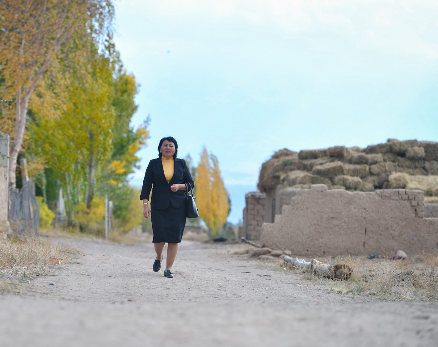 Mrs. Tursunai Akmatova's photo