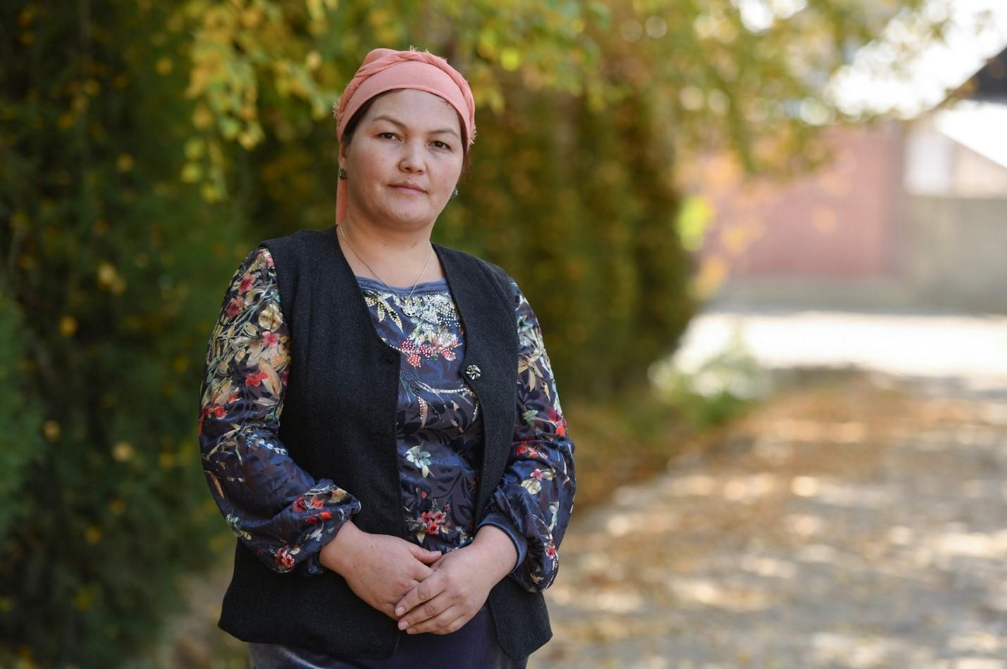 Ms. Nargiza Tabaldieva's photo